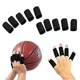 Fingerschutz, elastisch, Unterstützung Bei Arthritis und beim Sport Hilfe x10