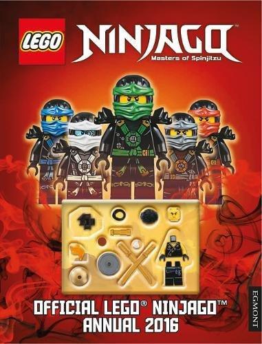 Official Lego® Ninjago Annual 2016 (Annuals 2016) por Egmont Publishing UK