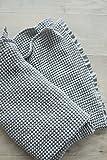 MINICAMP Leinen Babydecke, Leinendecke, Bio-Baby-Decken, Handarbeit, Babydecke, Babyhandtuch, Kinderdecke, Kinder-Decke, Babyhandtuch, Waffel-Leinengewebe. Silber