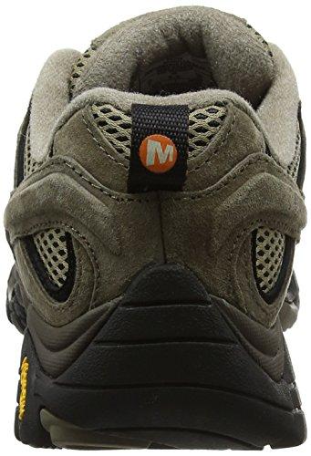 Merrell Mens Moab 2 Scarpe Da Trekking E Trekking Marrone (pecan)