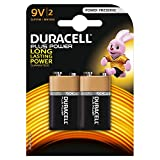Duracell 75051885, Pila Alcalina, 9 V x2 Plus Power