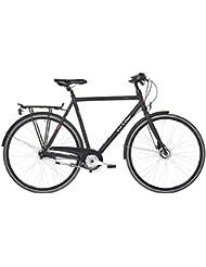 Ortler Motala - Bicicleta para hombre - negro mate Tamaño del cuadro 57 cm 2017 Bicicleta urbana
