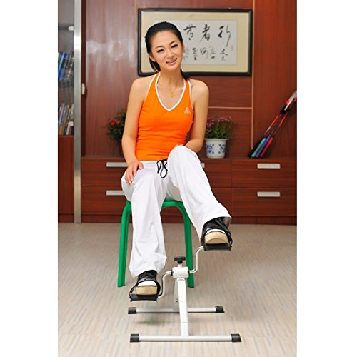 Leg Slimming Exercising Rehabilitation Bike Therapy Trainer Foot Hand Muscle Physical Bicycle Color as per stock