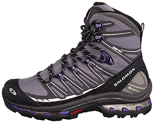 Salomon Cosmic 4D 2 GTX Waterproof Women's Trail Botte De Marche Grey