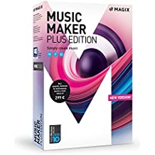 MAGIX Music Maker 2018 Plus Edition - Software De Producción De Música, Windows