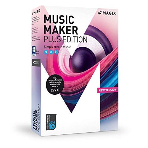 MAGIX Music Maker - 2018 Plus Edition
