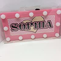 SOPHIA Childrens LED Personalised Name In Lights room Sign