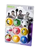 JOOLA FAN Balles de tennis de table Blister de 9 balles Multicolore