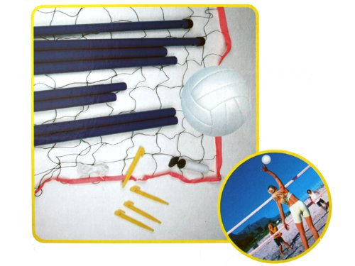 Otto Simon Completo voley Playa transportables Set - volea Juego de Pelota - Beach Sports