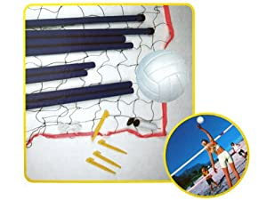 Otto Simon Completo voley Playa transportables Set - volea Juego de Pelota - Beach Sports