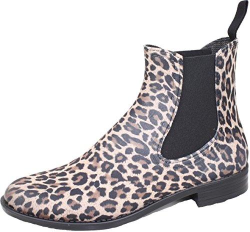 BOCKSTIEGEL® REBECCA Damen - Modische Gummihalbstiefel (36-41 Leoparden Stil) Leopard