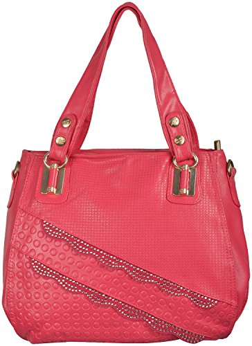 Gouri Bags Pink Colour Women Handbags Shoulder Soft Leather Bag ...