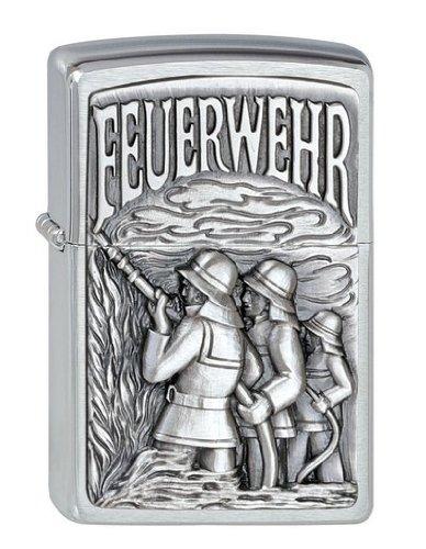 Collection 2010 Gewaltiges Emblem-ZIPPO neu FEUERWEHR