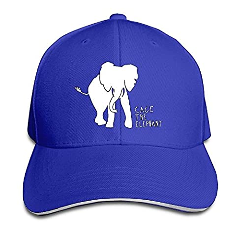 Hittings Cage The Elephant Sandwich Peaked Hat/Cap RoyalBlue