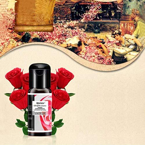 APRITECH® ätherisches öle öl Set Ätherisch öl Aromatherapie Duftöl, Neue Generation 100% Natur aroma öle Essential oil Geschenkset, 3 x 15 ml Oils (lavendel+zitrone+bulgarische Rose)