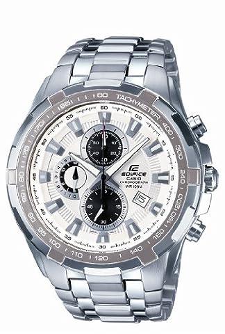 Casio Edifice – Herren-Armbanduhr mit Analog-Display und Massives Edelstahlarmband – EF-539D-7AVEF