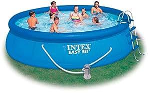 Kit piscine autoportante intex easy set x for Piscine intex 4 57 x 0 91