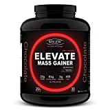 Sinew Nutrition Elevate Mass Gainer - 3 kg /6.6 lbs (Chocolate Flavor)