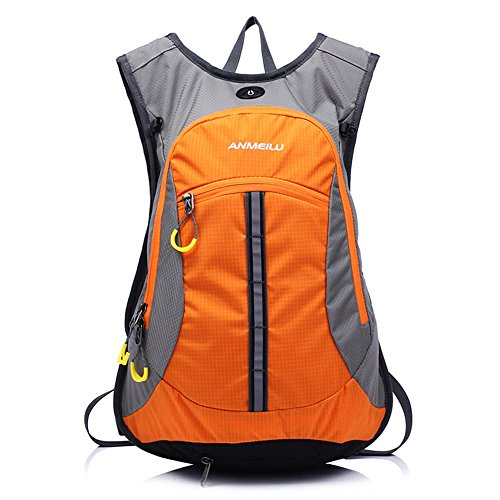 Lixada Wasserabweisend Schulter Fahrrad Rucksack für Mountain Radreisen Wandern Camping Wassertasche