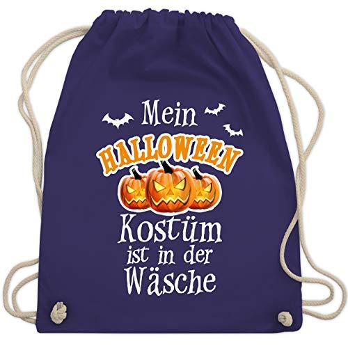 Halloween - Mein Halloween Kostüm ist in der Wäsche - Unisize - Lila - WM110 - Turnbeutel & Gym ()