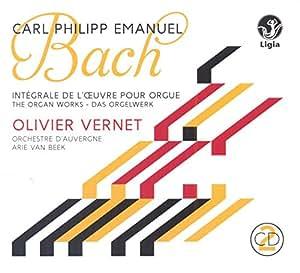 Bach C.P.E. / l'Oeuvre pour Orgue