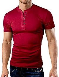 Grin&Bear coupe slim contrast col à bouton Shirt, BH127