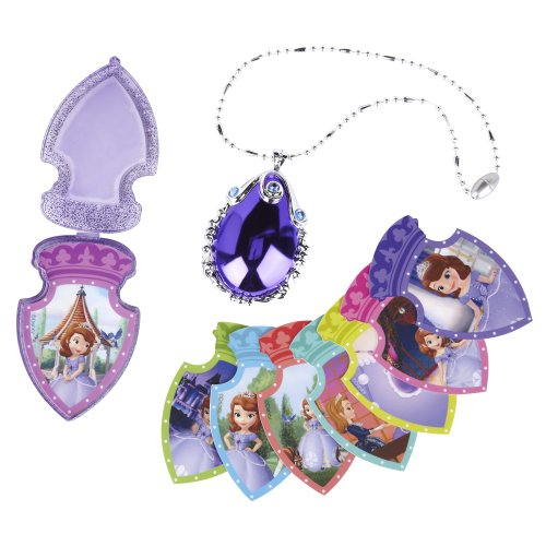 Giochi Preziosi 70586381 - Disney Sofia die Erste magisches Amulett (Sophia Das Erste Kleid)
