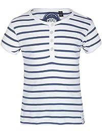 GRAIN Girl's Striped Cotton Multicolor T-Shirts