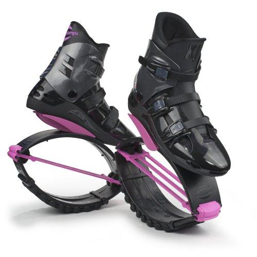 Kangoo Jumps xR 3 chaussures  rebonds pour femme rebound shoes XS Multicolore - Noir/Rose