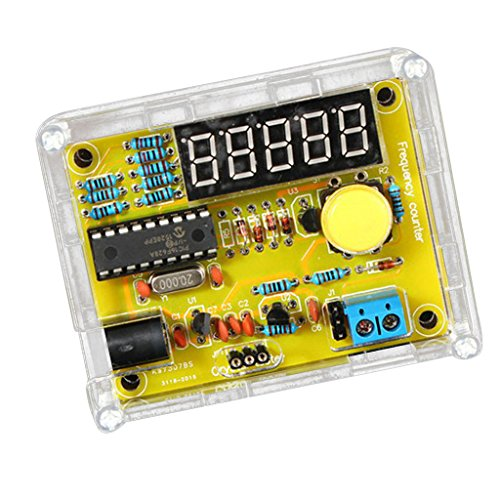 MagiDeal 1hz ~ 50mhz digitalen Frequenzmesser DIY Kit Frequenzzähler Tester Messung