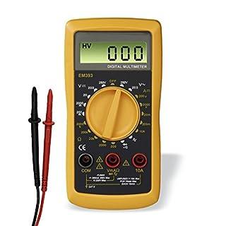 Hama Digital Multimeter (Spannungsmesser, Stromprüfer, Widerstand) Strommessgerät schwarz/gelb (B000VE5QPY) | Amazon Products