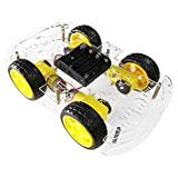 The perseids Smart Robot Car Chassis, 4WD Chasis Robot Arduino, Kit de...