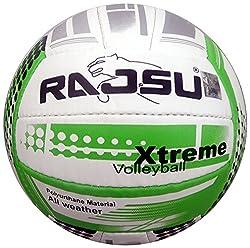 RAJSU Xtreme Polyether Thane Volleyball (White)