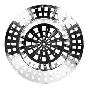 De-Plastik 5830 441 Abflußsieb / Ø 60 mm / chrom / 5er Set