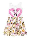 Desigual Mädchen Kleid Vest_Trentin, Weiß (Tiza 1010), 164 (Herstellergröße: 13/14)