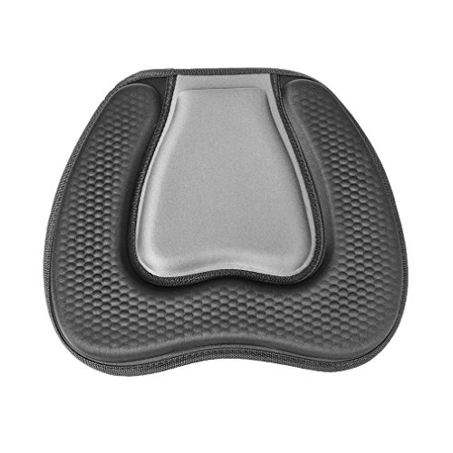 Features:EVA material, more comfortable and durableDie forming,thick and elasticEffectively protect the bottom, sit up very comfortable.Contoured padded backrest and base are soft and antiskid, which makes you feel comfortable and safeThis seat is...