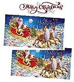Windel Calendario dell'Avvento Maxi Aspettando il Natale con Cioccolato al Latte Ripieno di Crema al Latte - 2 x 240 Grammi
