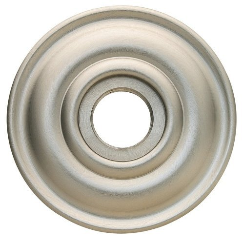 Baldwin 5048.150.I Classic Rosette, Satin Nickel by Baldwin - Rosette Nickel