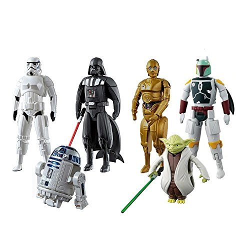 Vibgyor Vibes™Twist and Move Action Figures Pack Of 6.