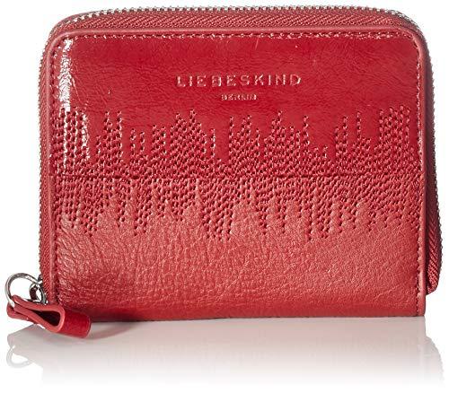 Liebeskind Berlin Damen Wave SLG-Conny Wallet Medium Geldbörse, Rot (Dahlia Red), 2x10x13 cm