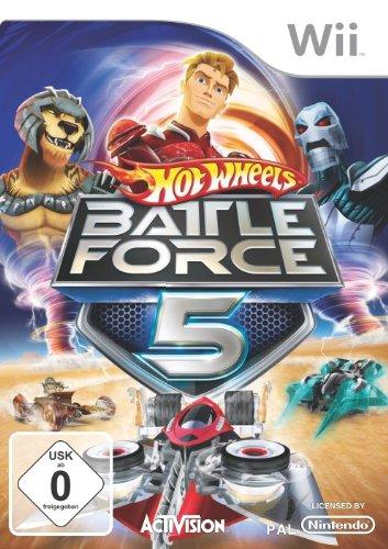Hot Wheels: Battle Force Five (Wii Hot Wheels Spiel)