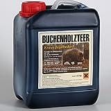 Buchenholzteer 2,5 kg Lockmittel 100 % natürlich altbewährtes Rezept & enorme Anziehungskraft für Schwarzwild und Rotwild