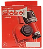 COVERWELL Stebel Super Loud 12v Nautilus Brio Bp3 Twin Air Horn Switchable 2 Modes Kit