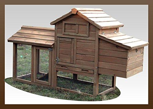 Poulailler Petit Mascotte bois 1 à 2 poules