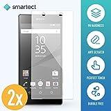 smartect® [2x] Protector de Pantalla para Sony Xperia Z5 Compact • Cristal Vidrio Templado • Gorilla glass con grado de dureza 9H • Cristal protector de calidad contra rasguños