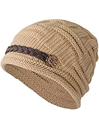 Vellette Gorros de punto Sombreros y gorras Crochet las mujeres del invierno  gorro de lana Tejer 2cfcf326870