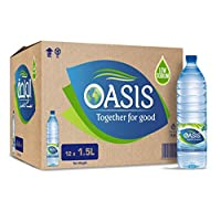 ‏‪Oasis Still Water 1.5L Carton of 12‬‏