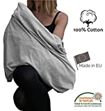 Écharpe d'allaitement 100% éco coton respirant fabriqué en Europe Tissu de haute qualité