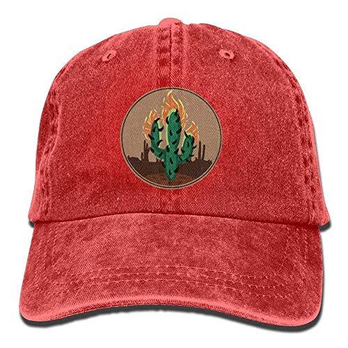 JIEKEIO Funny Baseball Caps Hats Travis Scott Rodeo Cactus Hunting Snapback Hats Match Cap -