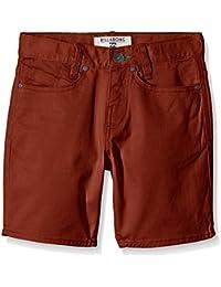 Billabong outsider Pantalones cortos, Outisder Short Boy, naranja, FR : 10 ans (Taille Fabricant : 10)